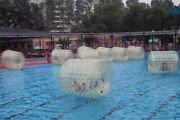 Water Zorb Ball Inflatable Body Zorbing Roller Ball Roll Grass Sea Snow Toys New