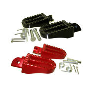 Cnc Aluminum Foot Rest Footpegs For 50cc-190cc Chinese Made Motorcycle Parts