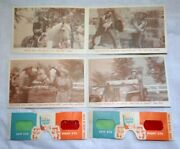Post Sugar Crisp Cereal Roy Rogers Trigger 3d Viewers And 4 Cards Series 6 N 8