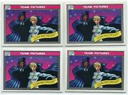 4 1990 Marvel Universe Series 1 Cloak And Dagger 141 Team Pictures Card Psa