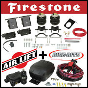 Firestone Ride Rite Bags Kit Airlift Air Compressor 17-20 F-350 F-450 Dually 4wd