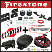 Firestone Ride Rite Bags Kit Airlift Air Compressor 2017-19 Ford F-250 F-350 2wd