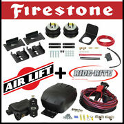 Firestone Ride Rite Bags Kit And Airlift Air Compressor Fits 2019-2020 Ford Ranger