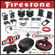 Firestone Ride Rite Air Kit And Airlift Air Compressor For 11-16 Ford F-250 F-350