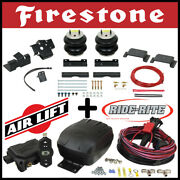 Firestone Ride Rite Kit And Airlift Air Compressor For 2011-2020 Sierra 2500 3500