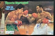 Gerry Cooney Signed Sports Illustrated 6/7/82 Boxing Larry Holmes Autograph Jsa