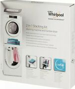 Whirlpool Sks200 Stacking Kit For Washer/dryer W/shelf And Hanging Rack