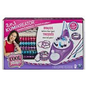 Cool Maker 2 In 1 Kumikreator Spin To Create Bracelet And Necklace Maker Kit New