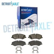Front Ceramic Brake Pads Hardware For Land Rover Discovery Lr4 Range Rover Sport