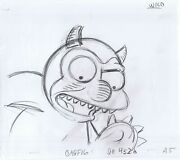 Simpsons Where The Wild Things Are Original Art Animation Production Pencils A5