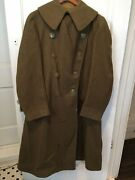 Wwi Us Army Officerand039s Overcoat Large Size