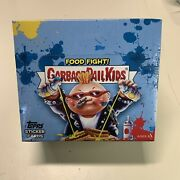 2021 Topps Garbage Pail Kids Food Fight Hobby Box 24 Packs In Stock