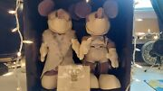 Rare Vintage Only 500 Made Mickey And Minnie Hollywood Gala Plush From Walt Disney