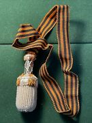A Russian Imperial Dagger Portepee Knot St. George Bravery Award Dagger .