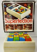 Vintage Superfection Lakeside Game No. 8375 Super Perfection 1978 Rare Works