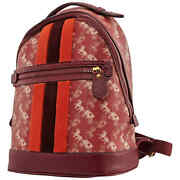 Coach Ladies Horse And Carriage Print Lunar New Year Barrow Backpack