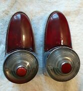 1954 Plymouth Tail Lights Housing Assembly Genuine Used Plyaz Original 25