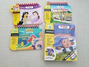 Lot 4 Leap Frog My First Leap Pad Books/cartridge For Preschool Learning System