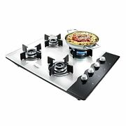 Prestige Hob Top Phts 04 With Glass Top 4 Burners And Auto Ignition 40558