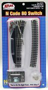 Atlas 2701 N Scale Code 80 Track Remote Right Hand 4 Standard Turnout