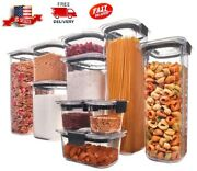 Rubbermaid, Pantry Organization And Food Storage Containers With Airtight Lids