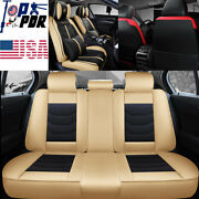 5-seats Car Seat Cover Cushion Suv Interior Front And Back Accessories Universal