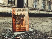 Excelsior Motorcylce Engine Art Wooden Picture Home Decor Wall Decor