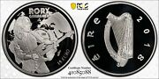 Ireland 2018 Silver Proof Andeuro15 Rory Gallagher Pcgs Pr70dcam
