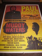 Paul Rodgers Tribute To Muddy Waters Promo Poster 371