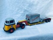 Arnold Daf Low Loader 9200 Blech Auto / Tin Toy Truck Rare
