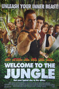 [autographed] - 'welcome To The Jungle' Jean-claude Van Damme Poster + Coa
