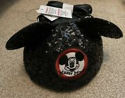 Nwt Disney Parks Loungefly Mickey Mouse Club Sequin Hat Crossbody Mouseketeer