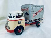 Arnold Daf 62845 Express Friction Lkw Blech Auto / Tin Toy Truck Rare