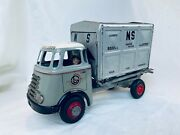 Arnold Daf Van Gend And Loos Friction Lkw Blech Auto / Tin Toy Truck Rare