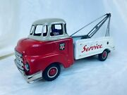 Arnold Bedford Service Truck Friction Blech Auto / Tin Toy Rare