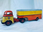 Arnold Daf Continental Transport Truck Battery Blech Auto / Tin Toy Rare