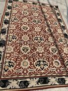 Vintage Handmade Needlepoint Rug 102andrdquo X 72andrdquo See Pictures