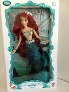Disney Store The Little Mermaid Ariel 17 Limited Edition Doll Mint Condition