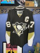 Pittsburgh Penguins Sidney Crosby Jersey Ccm Reebok Mens Size 48 Preowned Nhl