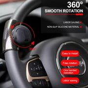 360anddeg Car Power Steering Wheel Ball Suicide Auxiliary Knob Booster Spinner Handle