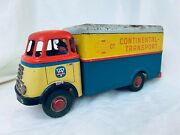 Arnold Daf Continental Transport Truck Friction Blech Auto Tin Toy Truck Rare
