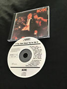 Ac/dc If You Want Blood Cd 1st Press Made In Japan Cdp 7466722 Australia Albert