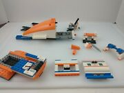 Lego City Coast Guard Helicopter 7738 - Incomplete