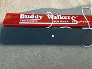 Rare Vintage Buddy Walkers Sawyer 36 Set Of 2 Person Team Wooden Walking Toy