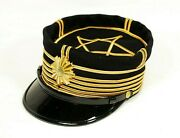 Repro Imperial Japanese Army High Ranked Officerand039s Hat For Full-dress Uniform