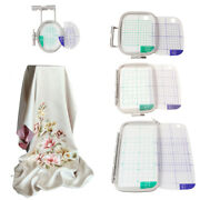 4pc/set Embroidery Hoop Set For Brother Sewing Machines Pe700,pe700ll,pe750d Usa