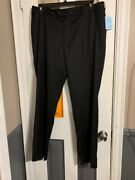 Zang Toi Pants Four Seasons Fabric Made In Italy Black 26 X 30 Retail 800.00