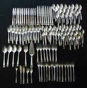 Eternally Yours Silverplate Flatware - Service For 20 - 131 Piece Set