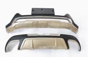 Front Bumper / Rear Bumpers Bars Guard Board Cover Trim For Ford Edge 2014 2015