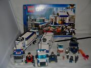 """Lego City Police Lot Mobile Command Center 60139 Building """"display Only"""" And More"""